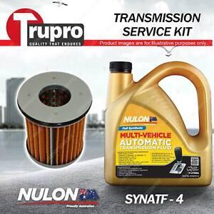 SYNATF Transmission Oil + Filter Kit for Subaru Forester SJ Impreza XV GP7 GJ7