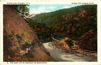 Vintage Postcard - Unposted Storm King Mountain Hudson River New York NY #3320