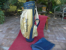 Women's or Men, Vintage, MacGregor Made In Usa Cart Golf Bag *Clean & Classy*