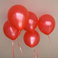 """30PC Gold Silver 10"""" COLOR Metallic Balloon Birthday Party Wedding Decor BALLOON"""
