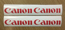 4 x Canon Logo Decals / Stickers + Free Postage