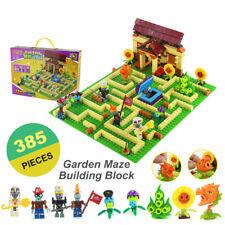 Plants VS Zombies Garden Maze Struck Building Blocks Games Toys Gift For Kids