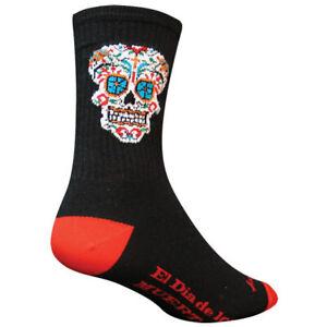 Sock Guy El Dia Crew Cycling Socks Black 5-9