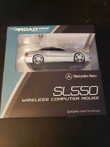 Road Mice Wireless Computer Mouse Mercedes Benz Mouse SL550 New