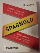 DIZIONARIO SPAGNOLO TASCABILE DE AGOSTINI 9788841864777