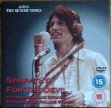 DVD - SYMPATHY FOR THE DEVIL Featuring The Rolling Stones - NEWSPAPER PROMOTION