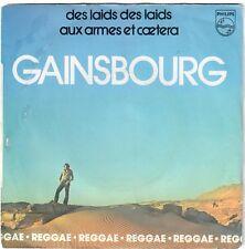 SERGE GAINSBOURG Des laids des laids Aux armes et caetera 1979 SP Original