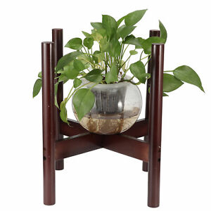 Bamboo Plant Stand Flowers Pot Holder Potted Stand Indoor Display Rack Decor