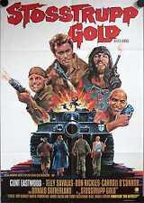 Stoßtrupp Gold Kelly's Heroes Filmposter A1 Clint Eastwood Telly Savalas Rickles
