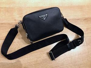 Prada Crossbody bag (Brique) Saffiano leather