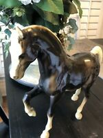 Vintage Breyer Charcoal Family Arabian Stallion FAS model horse #201, brown var.