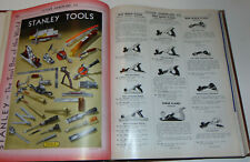 VTG 1941 HARDWARE CATALOG! STANLEY TOOLS/EVERYTHING FOR HOME & FARM! WHOLESALE!