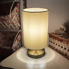 AU Desk light Table lamp Living Bedroom Elegant Fabric Cloth reading lamp Modern