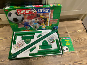 Vintage 1997 Super Striker Football Game Table Top Football Spears Games