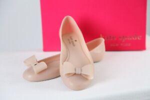 KATE SPADE – Stunning Jove Jelly Bow Ballerina Flats – Size 8 B