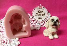 Dog Puppy IV  doggie Silicone Mold Food Cake Decoration soap Cupcake (FDA)