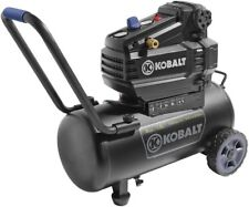 8 Gallon Air Compressor 1.8 HP 120 Volt 150 PSI Horizontal Portable New Kobalt