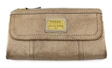 FOSSIL Emory Long Live Vintage Leather Clutch SWL1066