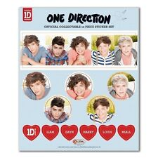One Direction 12 Piece Sticker Set Room Decoration Brand New Gift