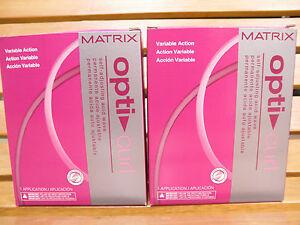 TWO MATRIX Opti Curl Variable Action Self-Adjusting Acid Wave Perm NEW!