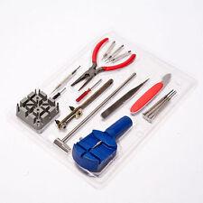 Watch Repair Tool Kit Set volver estuche Abridor Remover Resorte Pasador De Barra Enlace Rolex Nr