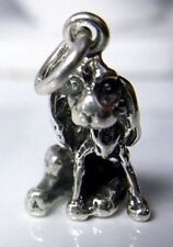 LOOK 2690 Cocker Spaniel Charm Sterling Silver Dog puppy