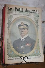El pequeño journal suplemento dibujada Nº1362 1917 L'Almirante Beatty Inglés