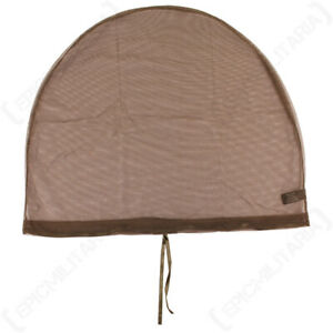 Army Military Bundeswehr Mosquito Head Neck Net Cover - Olive Drab