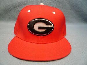 Nike Georgia Bulldogs True Wool Fitted Sz 7 1/2 BRAND NEW hat cap UGA Dawgs