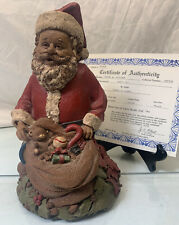 Vintage Tom Clark 1984 Santa Claus Iii Gnome #48 Retired Christmas w Coa Signed
