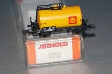 BOX21] Arnold 4350 N Güterwagen Kesselwagen Shell der DB OVP von 4312