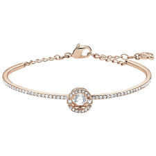 SPARKLING DANCE BANGLE WHITE ROSE GOLD  2019 SWAROVSKI CRYSTAL JEWELRY 5497483