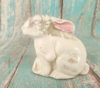 OLD VINTAGE BEAUTIFUL PORCELAIN CERAMIC RABBIT 02 FIGURINE /FIGURE