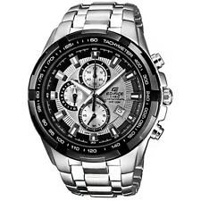 NEW! Casio Men's EF539D-8AV Edifice Stainless Chronograph Sport - GREAT GIFT
