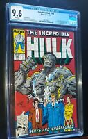 THE INCREDIBLE HULK #346 1988 Marvel Comics CGC 9.6 NM+ White Pages