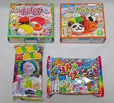 Kracie 4pcs Happy kitchen Popin cookin Japanese candy DIY Making Kit