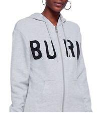NEW WITH TAGS ZOE KARSSEN Burn Longline Grey Hoodie Jacket Size Medium UK 12 14