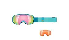 K2 Damen Skibrille Scene Blue Glacier/Sunrise + Amber Flash UVP €109,99