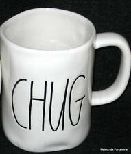 """RAE DUNN MAGENTA, INC 1 TALL MUG """"CHUG"""" 2015"""