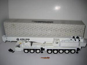 Krupp Kmk 8350 Autokran Blanc #2077.5 Conrad 1:50 Emballage D'Origine
