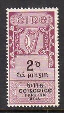Ireland Foreign Bill 1921 2/- (B5) fine fresh mint