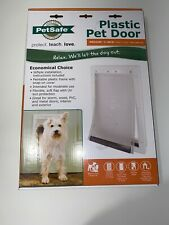 "PetSafe Plastic Flap Door medium dog, large cat 8 1/8""x 12 3/4"" opening, to 40lb"