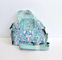Loungefly Disney Lilo & Stitch Print Faux Leather Mini Dome Bag Crossbody Purse