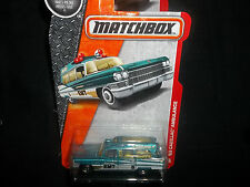 MATCHBOX 1/64 1963 CADILLAC AMBULANCE EMT