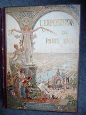 Livre L'Exposition Universelle Paris 1900 Encyclopédie (10318)