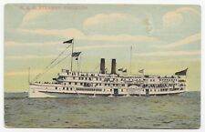 R. & O. STEAMER KINGSTON Lake Ontario Canada 1907-15 Richmonde Sales Co Postcard