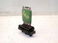 Heater Resistor  -04 Fiat Doblo Van 1.9 Jtd (Ref.260)