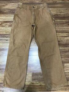 MENS 34 x 32 - Carhartt Duck Work Pants