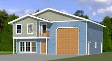 40x42 House -- 3 BR 2.5 Ba 1-RV Garage - PDF Floor Plan - 1,619 sqft - Model 2B
