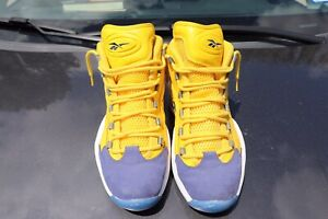 Reebok Question All-Star Mid Yellow OG Anniversary NBA